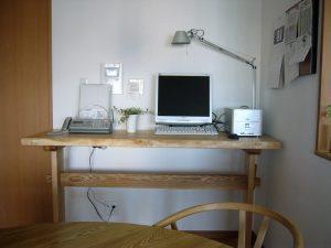 無垢カウンターテーブル
