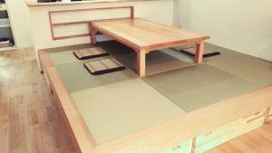 無垢手作り座卓