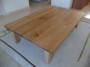 胡桃の座卓