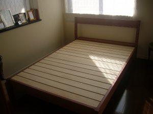 特注のWベッド