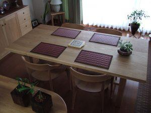 無垢ダイニングテーブル