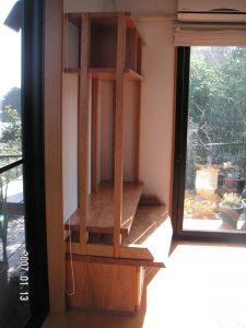 山桜のオーダーテレビボード
