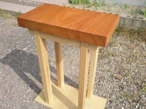 ケヤキ一枚板小テーブル