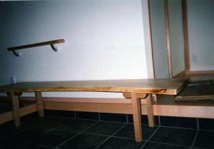 玄関用ベンチ