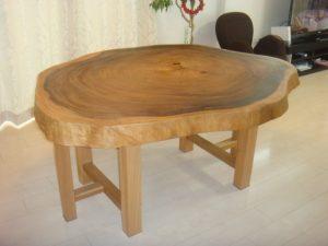 輪切りテーブル