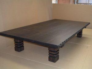 彫り入り座卓