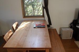 無垢シンプルテーブル