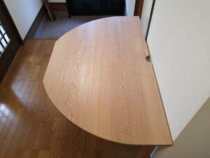 特注半円テーブル